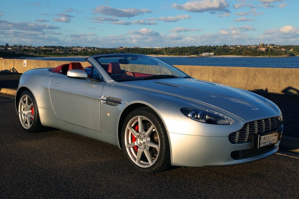Aston Martin Vantage Roadster Ultimate Rentals Australia