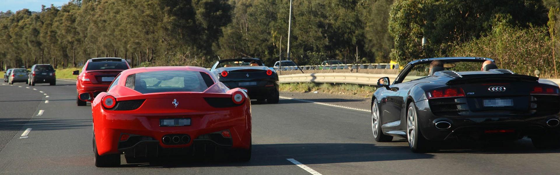 Ultimate Rentals Australia Drive Day