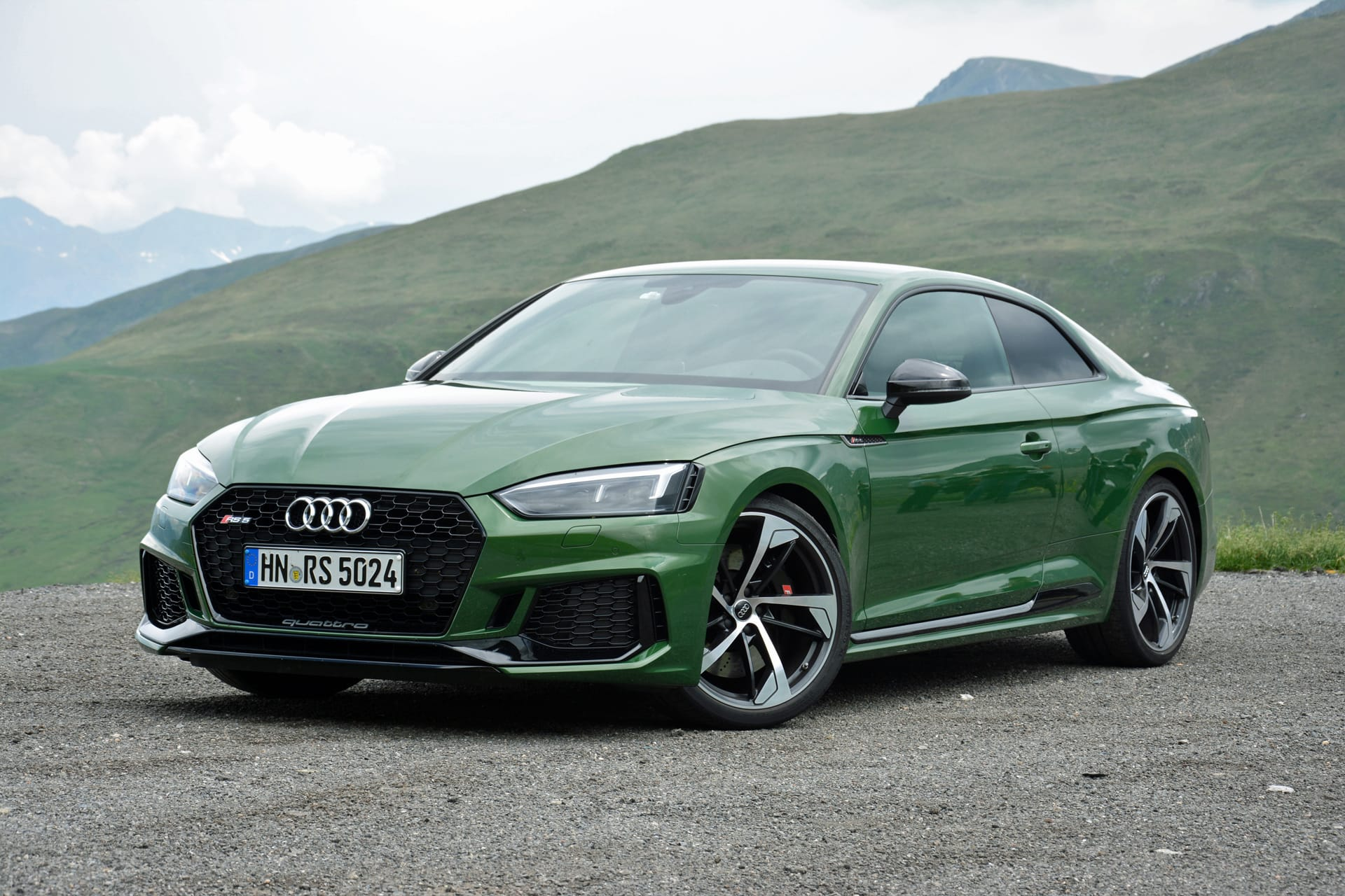 2018 Audi Rs 5 First Drive Review Green With Mean