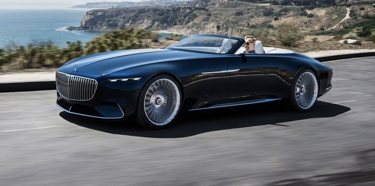 Mercedes Maybach Vision 6 Cabriolet Revealed Ultimate