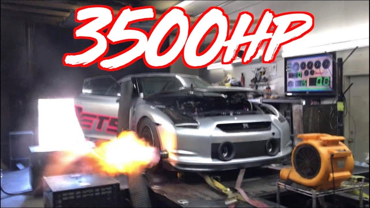 World's most powerful Nissan GT-R makes 3,500 horsepower